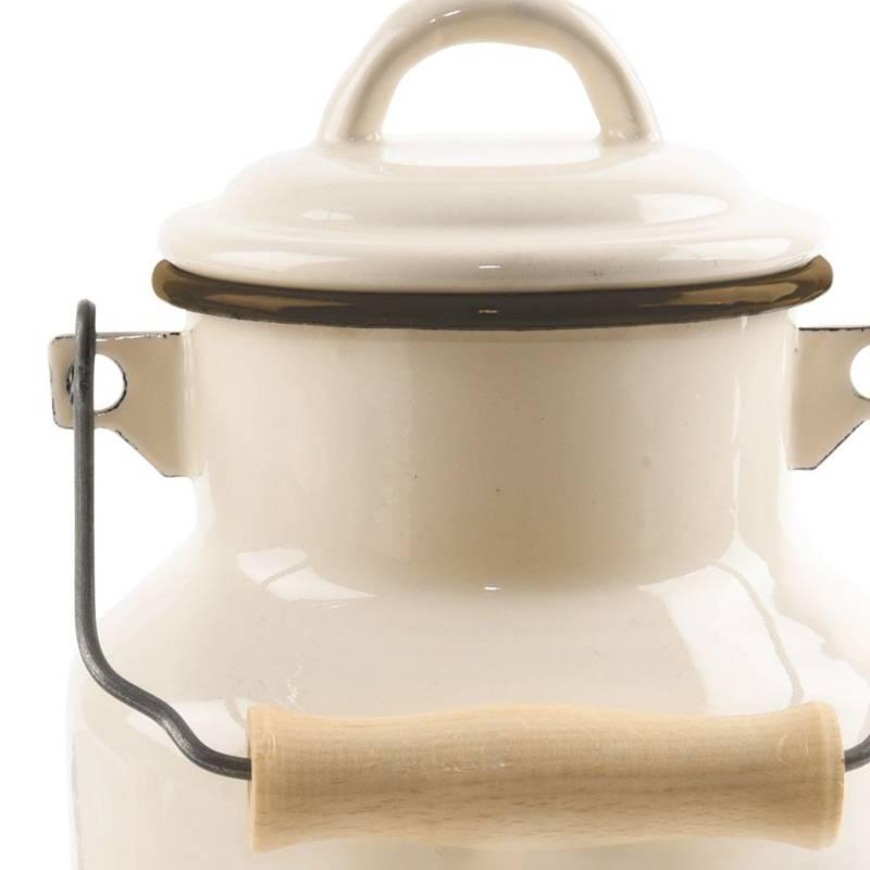 ORION Churn for milk enamel retro 2L