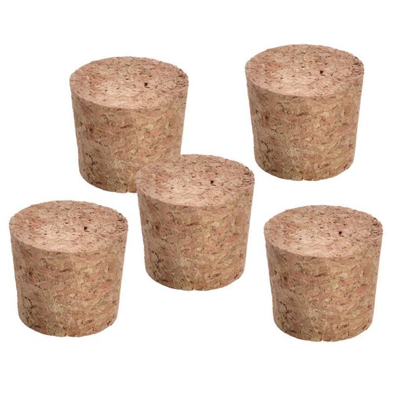 Korken Flaschenverschlüsse 5 Stück 3,7x3,3x3 cm