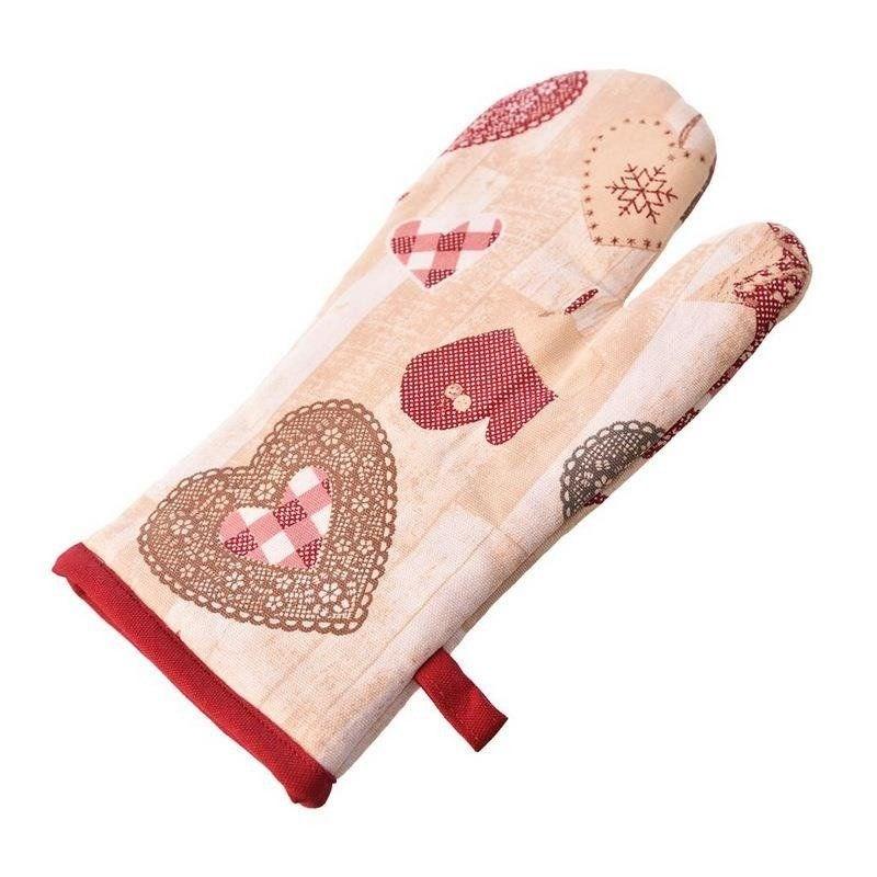 Świąteczna rękawica kuchenna bawełna święta Boże Narodzenie